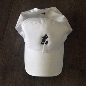 White Nike Disney Hat